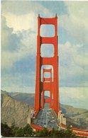 GOLDEN GATE BRIDGE - SAN FRANCISCO. U.S.A. POSTAL CPA CIRCA 1960 NON CIRCULÉ - LILHU - San Francisco