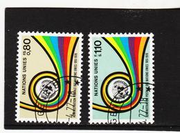 SRO441 UNO GENF 1976 MICHL 60/61 Gestempelt Siehe ABBILBUNG - Genf - Büro Der Vereinten Nationen