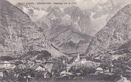 AK Valle D'Aosta - Courmayeur - Capoluogo - 1908 (40851) - Andere Steden