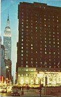 NEW YORK STATLER ATMADISON SQUARE GARDE, NEW YORK CITY. U.S.A. POSTAL CPA CIRCA 1960 NON CIRCULÉ - LILHU - New York City