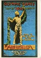 OLYMPIC GAMES 1932 - LOS ANGELES, CALIFORNIA. U.S.A. POSTAL CPA CIRCA 1930 NON CIRCULÉ - LILHU - Los Angeles