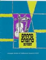 Grand Casino De Vichy - Programmes