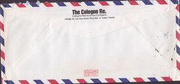 Taiwan Air Mail THE COLOGNE REINSURANCE COMPANY, TAIPEI 1993? Cover Brief DEUTSCHE BANK Germany 17.00 $ Glasvase - 1945-... República De China