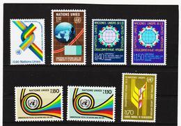 SRO399 UNO GENF 1976 JAHRGANG MICHL 56/62 ** Postfrisch Siehe ABBILBUNG - Genf - Büro Der Vereinten Nationen