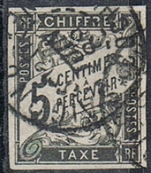 COLONIES GENERALES TAXE N°5  Oblitération De Saïgon Cochinchine - Postage Due