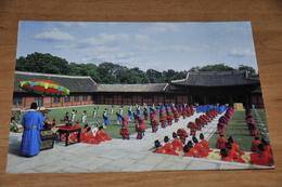 9222-   THE SCENE OF KING'S CORONATION, KOREA - Korea, South