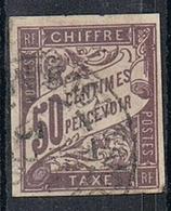 COLONIES GENERALES TAXE N°23  Oblitération De Saïgon Cochinchine - Portomarken