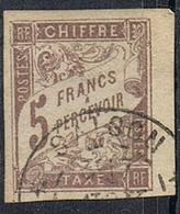 COLONIES GENERALES TAXE N°17  Oblitération De Saïgon Cochinchine - Postage Due