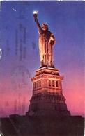 THE STATUE OF LIBERTY. U.S.A. POSTAL CPA CIRCULÉ TO ARGENTINA 1956 - LILHU - Estatua De La Libertad
