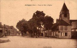 5857   -2019    AUBIGNY   PLACE DU MAIL   L EGLISE - Aubigny Sur Nere