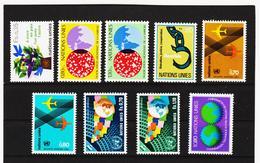SRO401 UNO GENF 1978 JAHRGANG MICHL 72/80 ** Postfrisch Siehe ABBILBUNG - Genf - Büro Der Vereinten Nationen