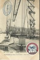 Marseille Pont A Transbordeur Voie D Acces Tampon Du 16 Octobre 1906 - Joliette, Hafenzone