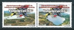 Ecuador (2001) Yv. 1592/93 /  Club - Cars - Autos - Voitures - Automobiles - Auto's