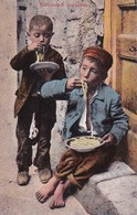 AK Italien - Kinder Beim Essen - Maccheroni Appetitosi (40857) - Europa