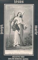 Image Pieuse - Religieuse - Mortuaire XIXe - Maria SIMMER (Dcd à Rodemack Le 4 Décembre 1893) - Images Religieuses