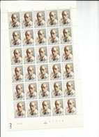 OCB 1708 Postfris Zonder Scharnier ** Volledig Vel ( Plaat 4 ) Lager Dan Postprijs - Volledige Vellen