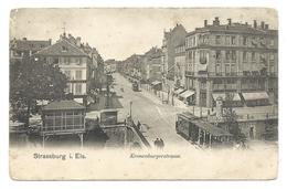 STRASBOURG, STRASSBURG (67,Bas Rhin) - Kronenburgerstrasse - Animé - Tramways - Strasbourg