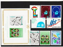 SRO403 UNO GENF 1980 JAHRGANG MICHL 88/95 ** Postfrisch Siehe ABBILBUNG - Genf - Büro Der Vereinten Nationen