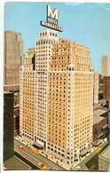 MANHATTAN HOTEL. NEW YORK. U.S.A. POSTAL CPA CIRCULÉ 1959 TO ARGENTINA - LILHU - Bares, Hoteles Y Restaurantes