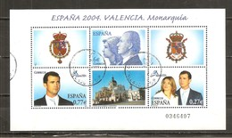 España/Spain-(usado) - Edifil  4087 - Yvert  BF 137 (o) - Blocs & Hojas