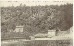 08 Ardennes - Vallée De La Meuse - Le Barrage D' Orzy Et Turbines Des Etablissements PORCHER, De REVIN - Revin