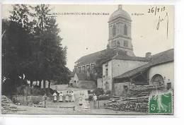 70 - MAILLERONCOURT-ST-PANCRAS - L' Eglise. Carte Animée - Autres Communes