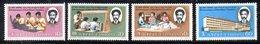 ETP185 - ETIOPIA 1974 ,  Yvert  N. 705/708 *** MNH  SELASSIE - Ethiopia