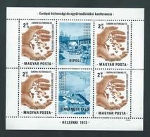 1973 Európai Biztonsági és Együttműködési Konferencia .Helsinki.  En Parfait état. 2 Scans. - Non Classés