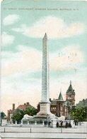 KINLEY MONUMENT, NIAGARA SQUERE, BUFFALO, N.Y.. U.S.A. POSTAL CPA CIRCULÉ 1908  - LILHU - Buffalo