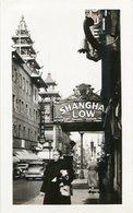THE FAMOUS CHINATOWN OF SAN RANCISCO. U.S.A. PHOTO POSTAL CPA CIRCA 1930's NON CIRCULÉ - LILHU - San Francisco