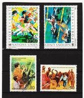 SRO417 UNO GENF 1988  MICHL 167/70 ** Postfrisch Siehe ABBILBUNG - Genf - Büro Der Vereinten Nationen