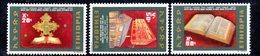 ETP172 - ETIOPIA 1972 ,  Yvert  N. 639/641 *** MNH  BIBBIA - Ethiopia