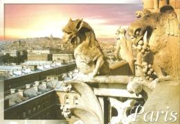 75 - Paris 04 - Du Haut De La Cathédrale Notre-Dame, Striges, Démons Et Chimères Veillent Sur Paris - éd. Leconte (2010) - Notre Dame De Paris