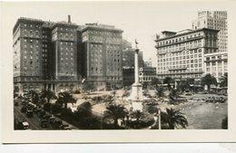 UNION SQUARE, SAN FRANCISCO. U.S.A. PHOTO POSTAL CPA CIRCA 1930's NON CIRCULÉ - LILHU - San Francisco