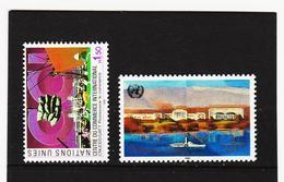 SRO420 UNO GENF 1990  MICHL 182/83 ** Postfrisch Siehe ABBILBUNG - Genf - Büro Der Vereinten Nationen