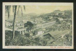 Brasil. Río De Janeiro. *Arcos De Sta. Theresa* Ed. J. S. Alonso. Al Dorso Nº 305177. Nueva. - Rio De Janeiro