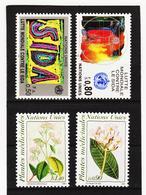 SRO421 UNO GENF 1990  MICHL 184/87 ** Postfrisch Siehe ABBILBUNG - Genf - Büro Der Vereinten Nationen
