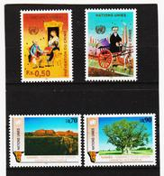 SRO422 UNO GENF 1990  MICHL 190/93 ** Postfrisch Siehe ABBILBUNG - Genf - Büro Der Vereinten Nationen