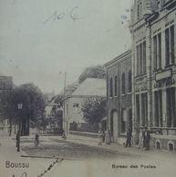 Boussu Bureau Des Postes (Coin Sup Gauche Plié Papier Collant) (Timbre Exposition Universelle De Liège 1905) - Boussu