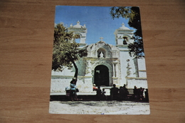 9234-   PERU, PORTADA IGLESIA DE CAYMA - Peru