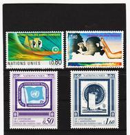 SRO425 UNO GENF 1991  MICHL 204/07 ** Postfrisch Siehe ABBILBUNG - Genf - Büro Der Vereinten Nationen