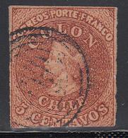1854  Yvert Nº 1D - Chile