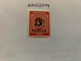 Berlin Green Overp. 5p Mnh 1949 - [5] Berlin