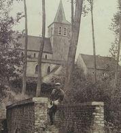 Cambron Casteau L'Eglise Chemin De Bollignie Avec Chasseur - Brugelette