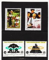 SRO428 UNO GENF 1993  MICHL 225/26 + 231/32 ** Postfrisch Siehe ABBILBUNG - Genf - Büro Der Vereinten Nationen