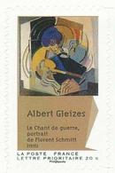 FRANCE Albert Gleizes, Cubisme Neuf **. Le Chant De Guerre, Portrait De Florent Schmitt. 2012. - Moderne
