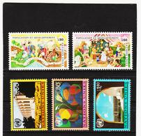 SRO431 UNO GENF 1994  MICHL 254/58 ** Postfrisch Siehe ABBILBUNG - Genf - Büro Der Vereinten Nationen