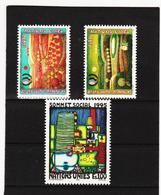 SRO432 UNO GENF 1995  MICHL 262 + 267/68 ** Postfrisch Siehe ABBILBUNG - Genf - Büro Der Vereinten Nationen