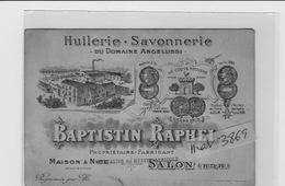 SALON PROVENCE HUILERIE SAVON BAPTISTIN RAPHAEL - Salon De Provence