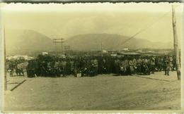ALBANIA - TIRANA - OCCUPAZIONE FASCISTA -  SOLDATI ITALIANI - RPPC POSTCARD 1941 (BG3287) - Albanië